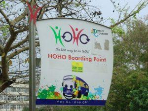 HOHO sign