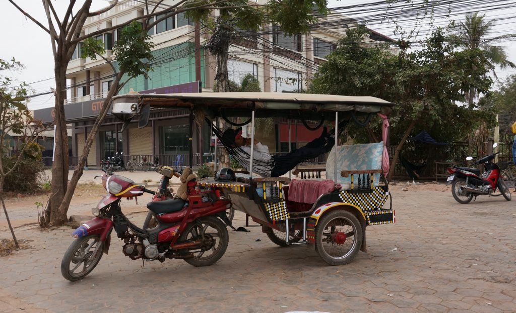 Cambodia travel tips - How to get from the airport to the hotel